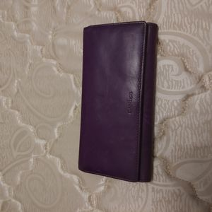 Danier purple wallet
